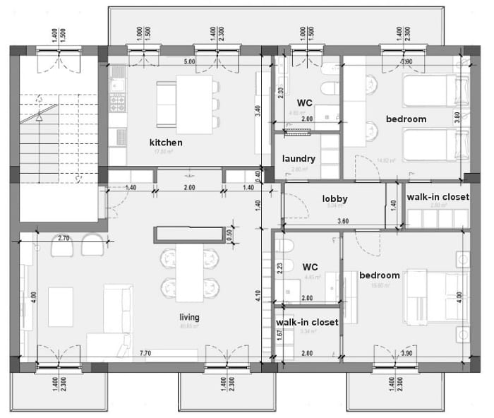 Reforma_piso_Planta-estado-proyectado_software-BIM-arquitectura_Edificius