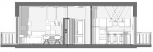 Reforma_piso_seccion-a-a-estado-proyectado_software-BIM-arquitectura_Edificius