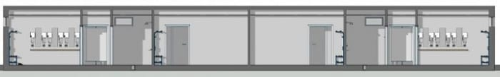 como-hacer-una-pista-de-tenis-vestuario_Seccion-A-A_software-BIM-arquitecura-Edificius
