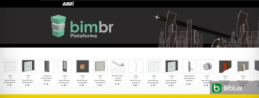 Plataforma BIM BR, la librería mundial de donde se pueden descargar objetos BIM