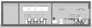 diseño-de-oficinas_Seccion-B-B_software-BIM-arquitectura-Edificius
