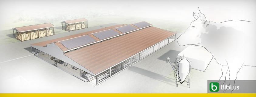 Diseño de establo con instalación fotovoltaica