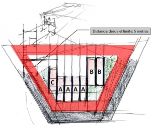 proyectos-de-casas-adosadas-4-consejos-dibujos-dwg_planimetria-lote-terreno_software-BIM-arquitectura-Edificius