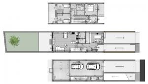 proyectos-de-casas-adosadas-4-consejos-dibujos-dwg_planta_software-BIM-arquitectura-Edificius