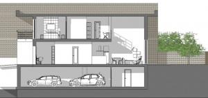 proyectos-de-casas-adosadas-4-consejos-dibujos-dwg_seccion-c-c_software-BIM-arquitectura-Edificius