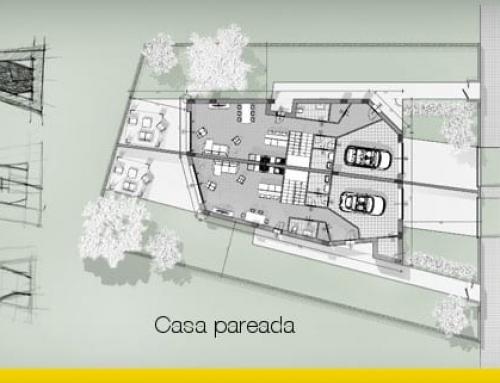 Cómo diseñar una casa pareada: guía y ejemplo para descargar