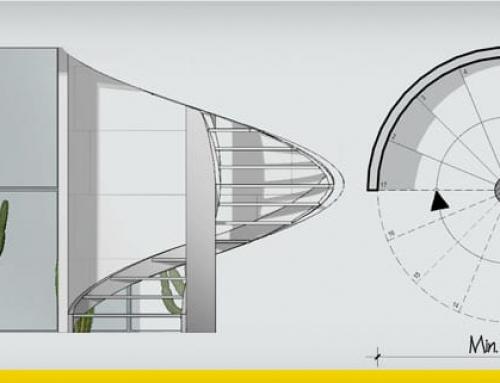 Guía técnica para el diseño de una escalera de caracol