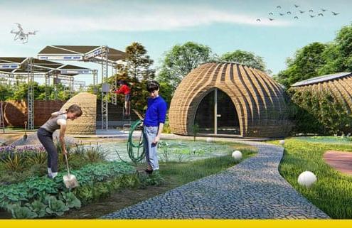 TECLA un hábitat ecológico realizado con impresión 3D