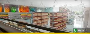 diseño de un supermercado
