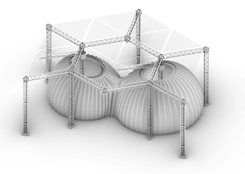 Obra de impresión por Mario Cucinella Architects