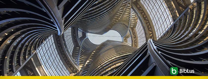 Render de la torre Leeza Soho en Pekín por Zaha Hadid
