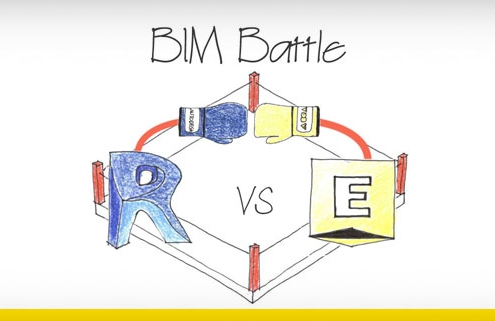 diseño representativo del BIM battle en Francia