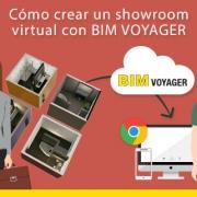 imagen de portada de entrada sobre como realizar un showroom virtual con BIM VOYAGER
