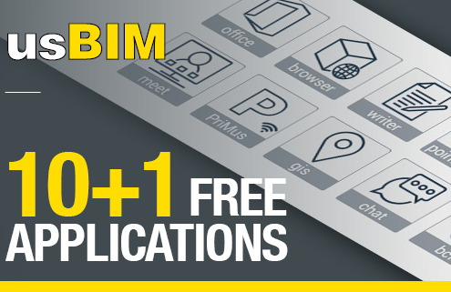 usBIM-10-1 aplicaciones gratuitas