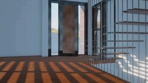 Rendu de l'intérieur et sescaliers de ML-House