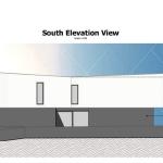 Casa San Roque: Elevation Cote Sud