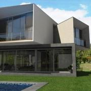 conception architecturale avec le logiciel BIM Casa san Roque