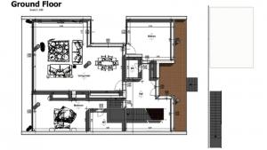 Casa San Roque: Plan Rez-de Chaussee Terrain