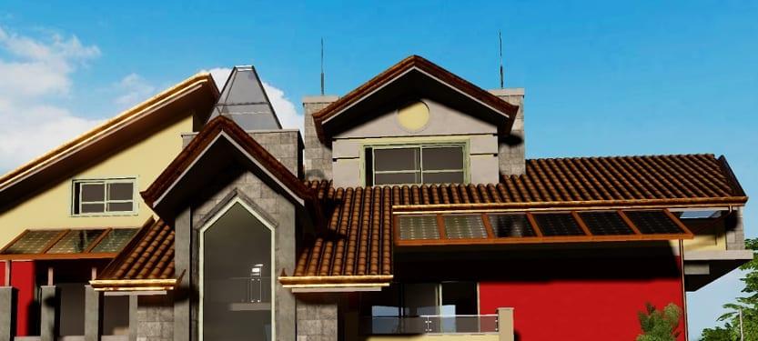 Dessiner un toit avec un logiciel de BIM