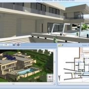 Définition des pièces et des niveaux dans un logiciel de BIM