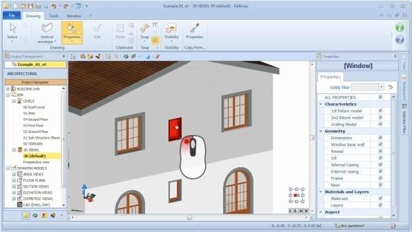 Attribuer les propriétés BIM de l'objet