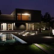 C-House avec un logiciel de BIM pour l'architecture