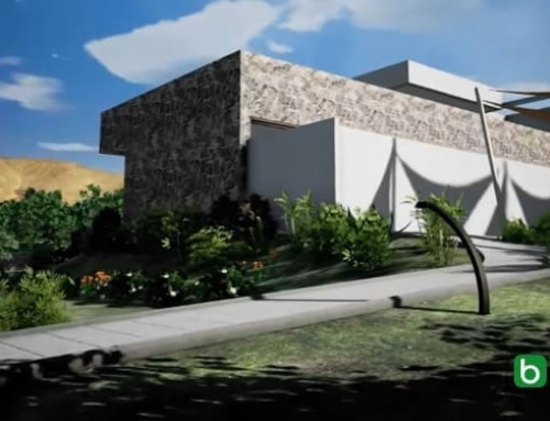 Modélisation du terrain avec un logiciel de BIM : Casa del Viento