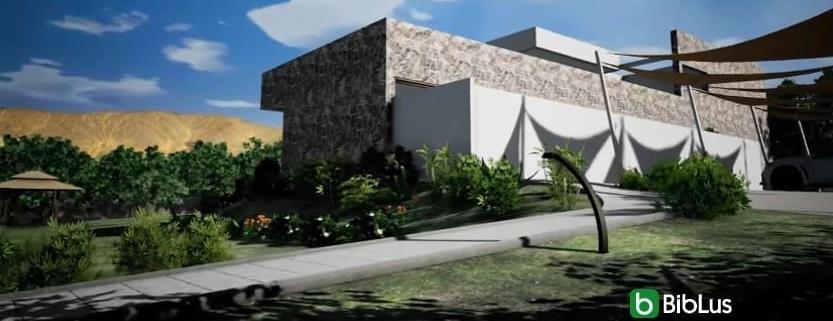 Casa del Viento terrain avec un logiciel de BIM