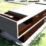 Détail terrasse Casa-Roncero