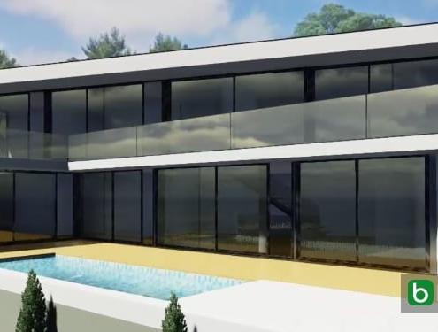 JC House conçue avec un logiciel de BIM