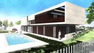 Jardin avec piscine de Casa Roncero