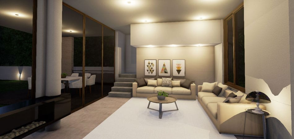 Rendu interieur living bim logiciel edificius biblus for Programmi rendering gratis