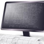 objets architecturaux et les éléments graphiques 2D