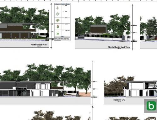 Les niveaux et les dessins dans un logiciel de BIM pour l'architecture