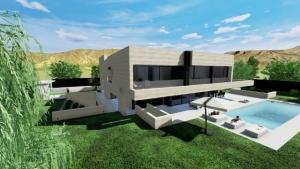 Aire piscine Park House - Edificius