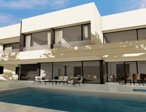 Concevoir une villa et ses espaces extérieurs avec un logiciel de BIM : Park House