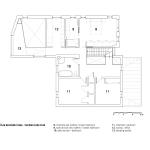 Plan deuxième étage Rèsidence Dulwich
