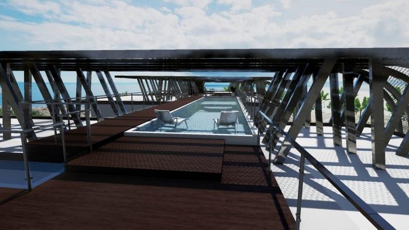 Concevoir une piscine extérieure avec un logiciel de BIM : l\'exemple ...