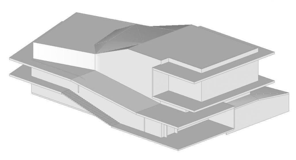 Caractéristiques volumétriques du batiment (Figure 1)