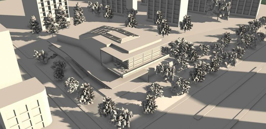 Emplacement détaillé dans le contexte urbain (Figure 3)