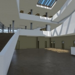 Hall Daegu Gosan Public Library avec Edificius