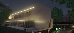 Modéliser une façade inclinée avec un logiciel de BIM pour l'architecture Edificius