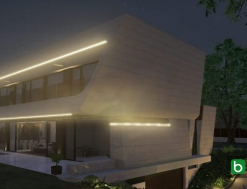 Modéliser une façade inclinée avec un logiciel de BIM : Marble&Bamboo