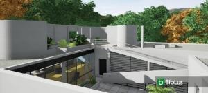 Villa Savoye con un software BIM Edificius