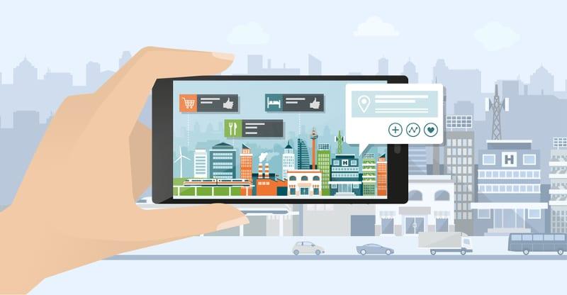 Smart device et réalité augmentée