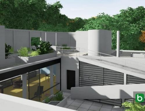 La conception de Villa Savoye avec un logiciel de BIM (partie 3)