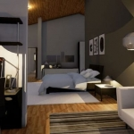 Bureau et chambre à coucher
