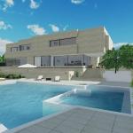 Solarium et piscine