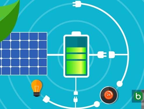Comment projeter le système de stockage pour une installation photovoltaique en-tete