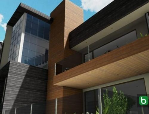 Comment modéliser la façade d'un bâtiment: Cuboid House